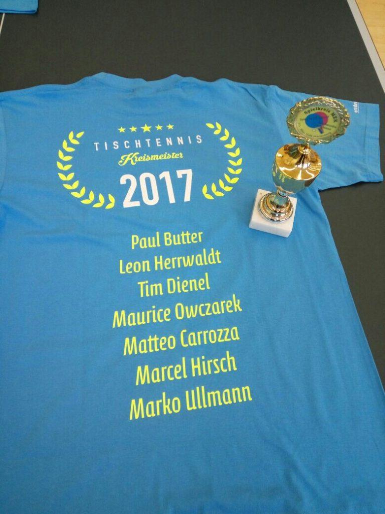 Nachwuchs-Kreismeister 2017